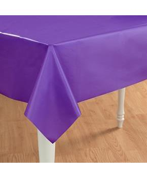 Perfect Purple (Purple) Plastic Tablecover