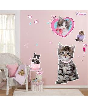 rachaelhale Glamour Cats Giant Wall Decals