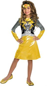 Transformers 3 Dark of the Moon Movie - Bumblebee Girl Toddler / Child Costume