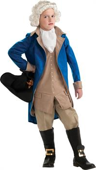 Boys George Washington Child Costume