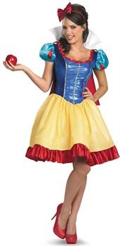 Deluxe Sassy Snow White Adult Costume