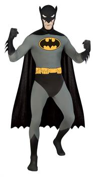 DC Comics 2nd Skin Batman Adult Costume