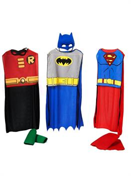 DC Comics Action Trio Child Costume Kit - Multi-colored - One-Size