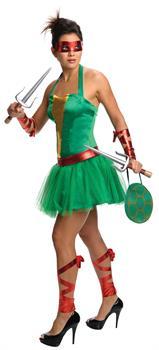 Teenage Mutant Ninja Turtles Raphael Adult Dress