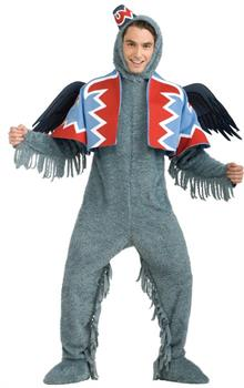 Men's Wizard of Oz Deluxe Winged Monkey Adult Costume - Standard