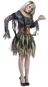 Female Complete Zombie Adult Costume