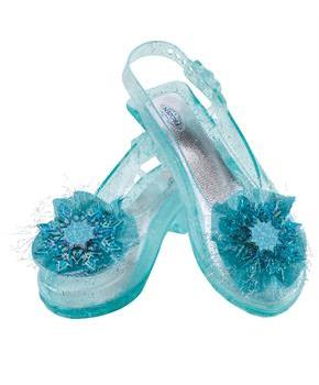 Girls Frozen - Elsa Shoes - Teal - One-Size