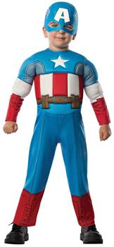 Boys Avengers Assemble Captain America Toddler Boy Costume