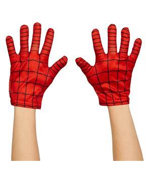 Boys Ultimate Spider-Man Kids Gloves - Red - Standard One-Size