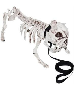 Skeleton Dog Decoration Prop