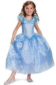 Girls Disney Cinderella Movie Child Deluxe for Halloween