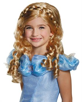 Disney Cinderella Movie Girls Wig