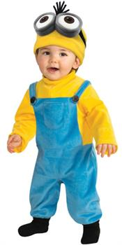 Boys Minions Movie: Kevin Toddler Costume - Yellow - Toddler (2-4)