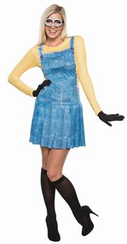 Women's Minions Movie: Female Minion Adult Costume