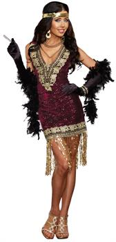 Sophisticated Lady Flapper Adult Costume