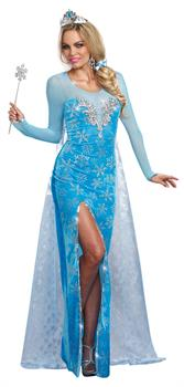 Women's The Ice Queen Adult Costume
