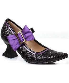Girl's Black Witch Shoes