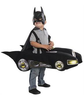 Batmobile Classic Toddler Costume - Black - Toddler (2-4)