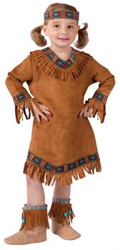 Native American Toddler Female Costume