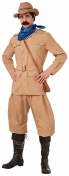 Men's Theodore Roosevelt Adult Costume One-Size - Tan - One-Size