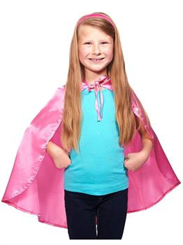 Women's Pink Cape - Pink - One-Size