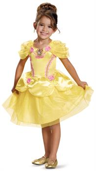Girls Disney Princess Belle Classic Toddler Costume