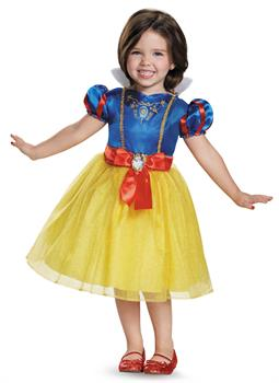 Girls Disney Princess Snow White Classic Child Costume - Yellow