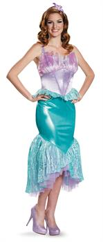 Women's Disney Princess Ariel Deluxe Adult Costume