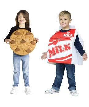Cookies and Milk Toddler Costume