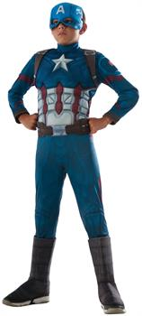 Kids Marvel's Captain America: Civil War Muscle Chest Deluxe Captain America Costume