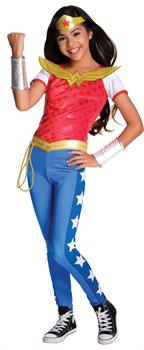DC Superhero Girls: Wonder Woman Deluxe Child Costume