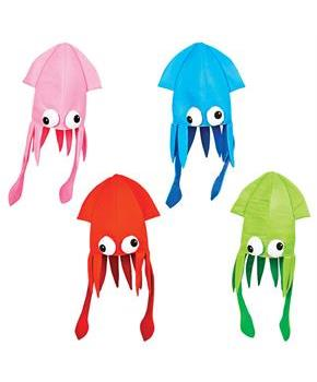 Boys Squid Hat - Various - color may vary