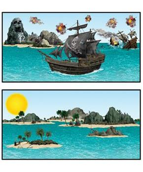 Pirate Ship and Island Props Add-Ons