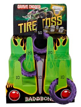 "Monster Jam 3D Ring Toss Game  24""H X 17""W X 23""D"