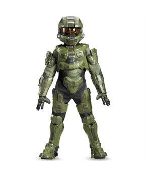 Halo Master Chief Ultra Prestige Boys Costume