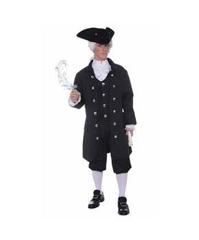 Mens Colonial Founding Father Costume