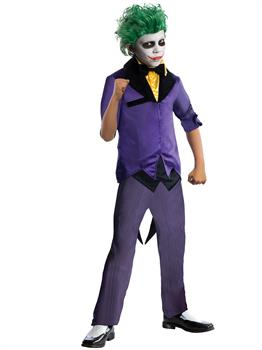 DC Comics Gotham Super Villains Joker Child Costume