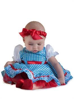 The Wizard Of Oz Dorothy Newborn Costume