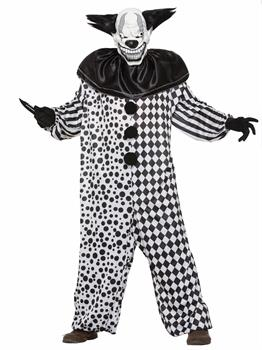 Men's Evil Al The Clown Adult Costume for Halloween