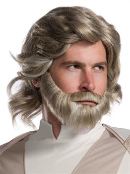 Star Wars Episode VIII - The Last Jedi Luke Skywalker Wig and Beard Set