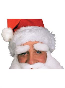 Santa Eyebrows