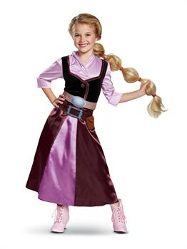 Tangled the Series Season 2 Rapunzel Classic Travel Outfit Child Costume