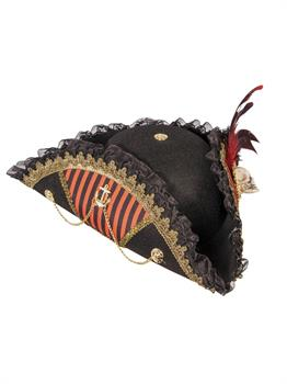 Lady Buccaneer Hat With Skull