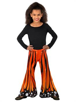 Girls Monarch Butterfly Pants Costume