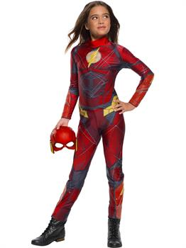 Justice League Girls Flash Jumpsuit