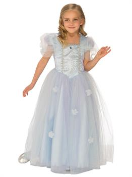Girls Blue Ice Princess Costume