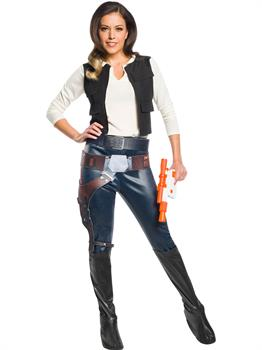 Star Wars Womens Classic Han Solo Costume
