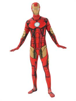 Mens Iron Man Second Skin Costume Partybell Com