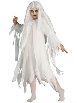 Girls Ghostly Spirit Costume for Halloween
