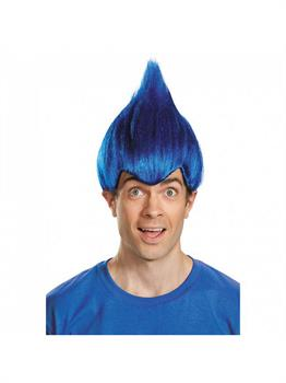 Dark Blue Adult Wacky Wig (One Size)